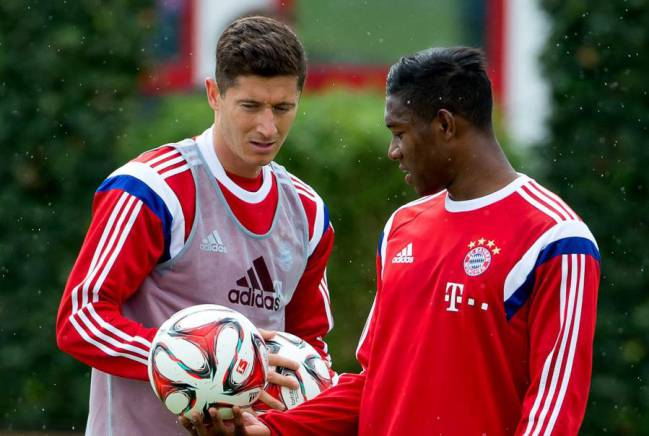 Lewy and Alaba