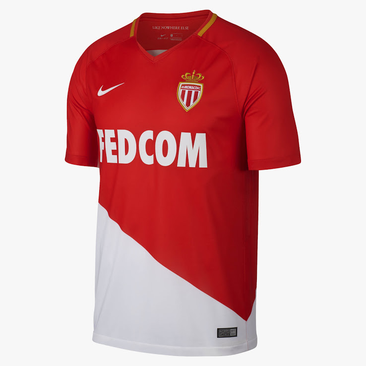 AS Monaco 17-18 Home Kit (2)
