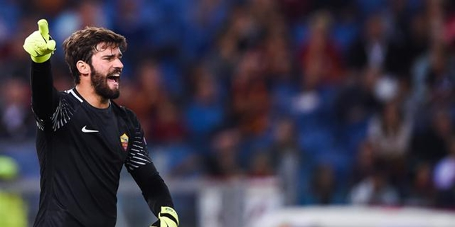 Alisson Becker, AS Roma, Liverpool