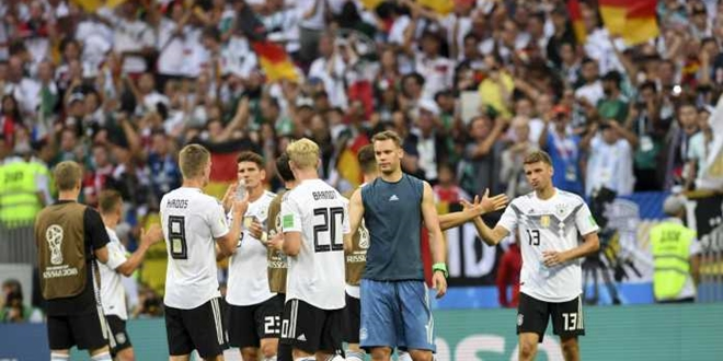 Jerman, World Cup 2018, Swedia