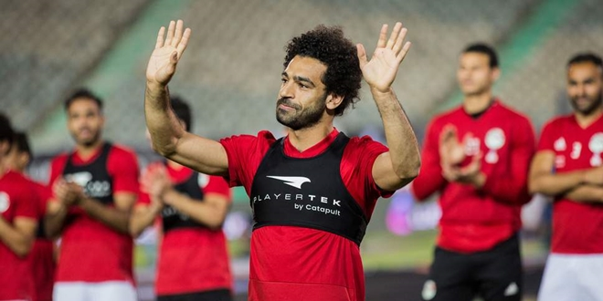 Mohamed Salah, Mesir, World Cup 2018