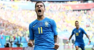 Philippe Coutinho, Brasil, World Cup 2018