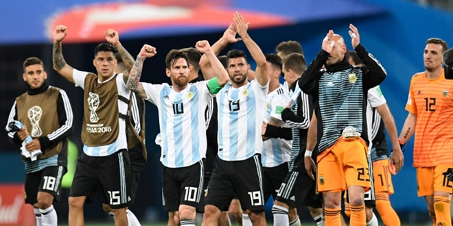 World Cup 2018, Lionel Messi, Argentina