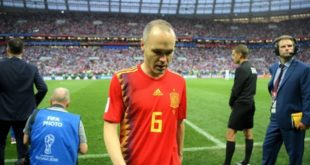 Andres Iniesta, Spanyol, World Cup 2018