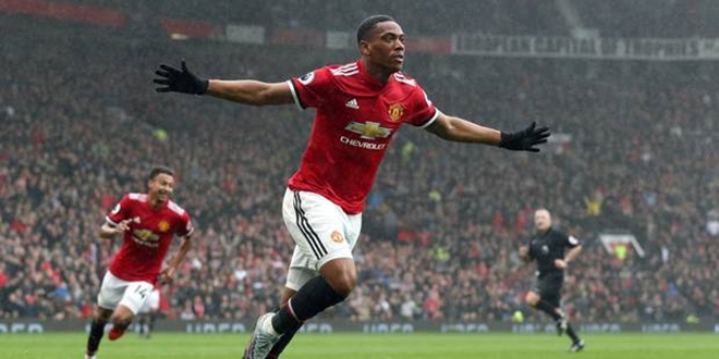 Anthony Martial, Manchester United, Premier League