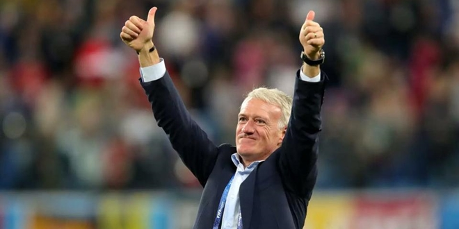 Didier Deschamps, Prancis, World Cup 2018