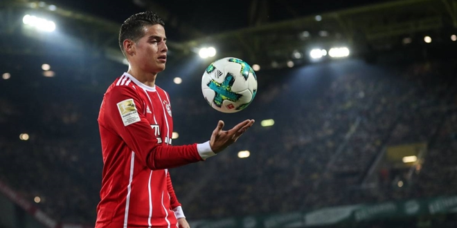 James Rodriguez, Bayern Munchen, Real Madrid