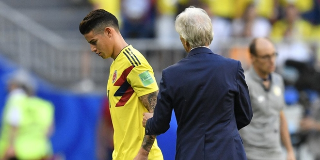 James Rodriguez, Kolombia, World Cup 2018
