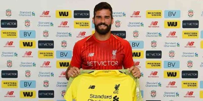 Liverpool, Alisson Becker, AS Roma