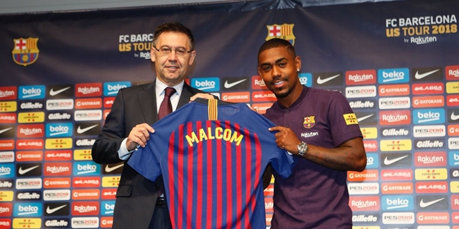 Malcom, Barcelona, AS Roma