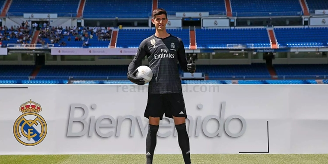 Real Madrid, Thibaut Courtois