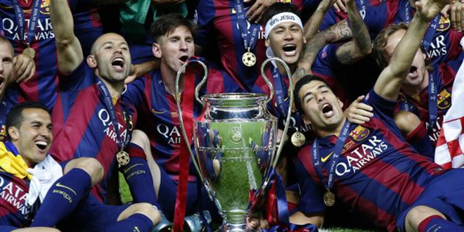 Barcelona, Champions League