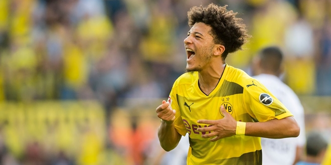 Jadon Sancho, Manchester City
