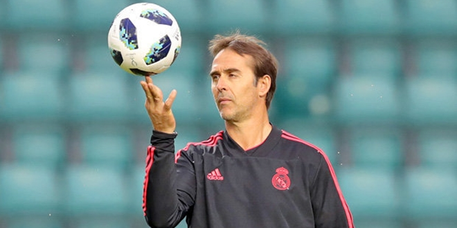 Real Madrid, Julen Lopetegui