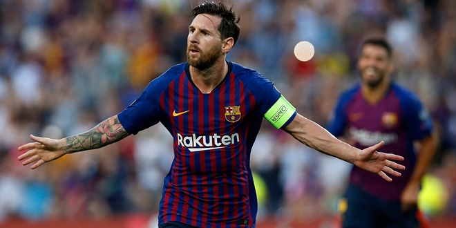 Barcelona Superstars, Lionel Messi, La Liga