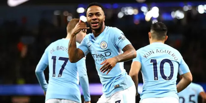 Raheem Sterling, Manchester City, Pep Guardiola