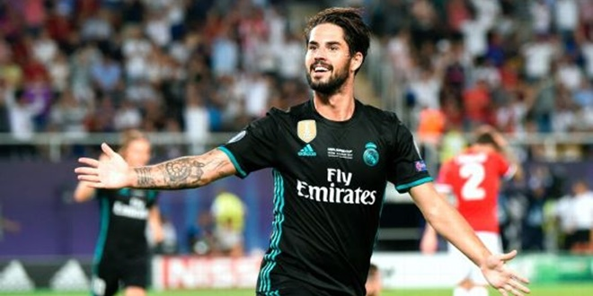 Real Madrid, Isco Alarcon