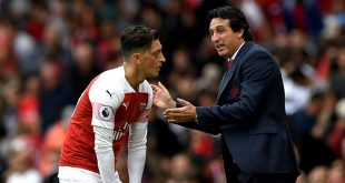 Arsenal, Mesut Ozil, Unai Emery