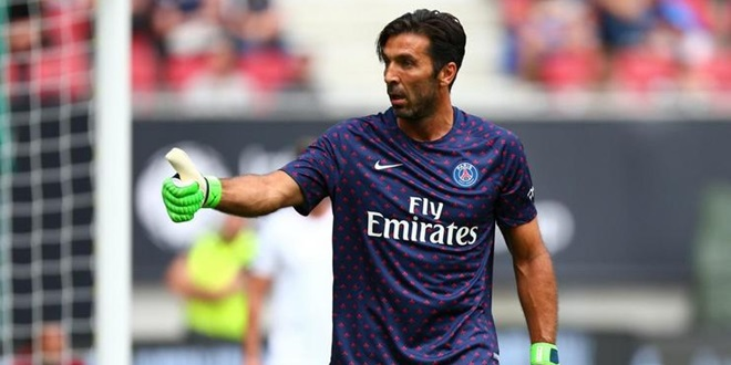 Juventus, Gianluigi Buffon, Paris Saint-Germain