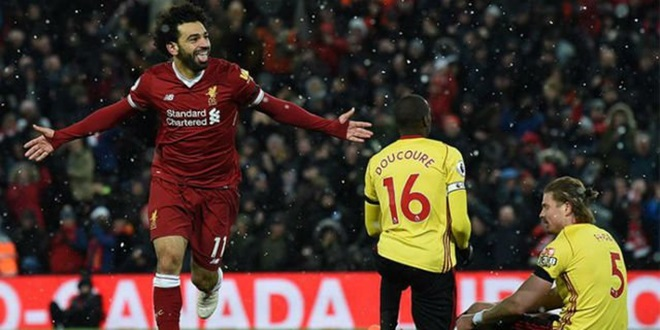Liverpool, Mohamed Salah, AFC Bournemouth