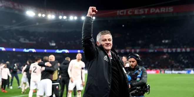 Paris Saint-Germain, Ole Gunnar Solskjaer, Manchester United