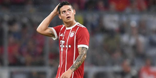 Real Madrid, James Rodriguez, Bayern Munchen