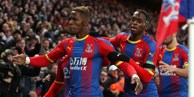 Crystal Palace, Wilfried Zaha, Manchester United