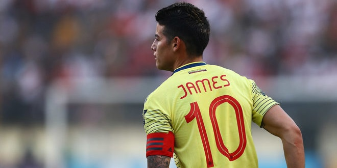 James Rodriguez, Colombia,