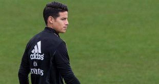 James Rodriguez, Real Madrid, Everton