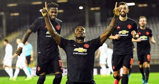 Juan Mata, Bruno Fernandes, Odion Ighalo, Manchester United