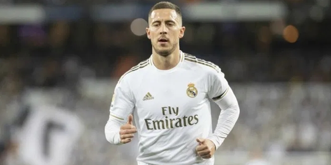Real Madrid, Eden Hazard