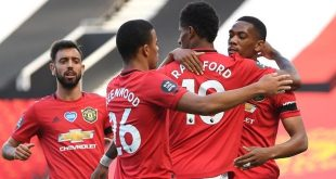 Marcus Rashford, Anthony Martial, Mason Greenwood