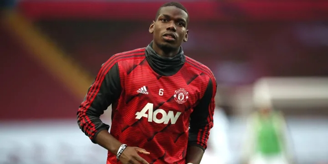 Paul Pogba,a Manchester United