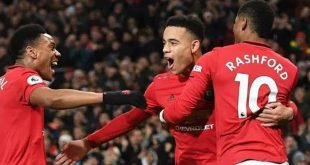 Manchester United, Anthony Martial, Marcus Rashford, Mason Greenwood