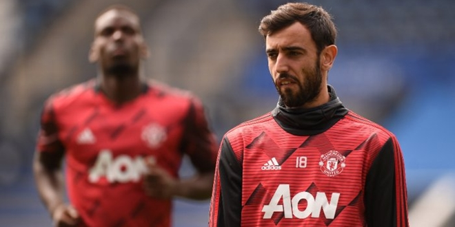Manchester United, Paul Pogba, Bruno Fernandes