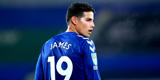 Everton, James Rodriguez